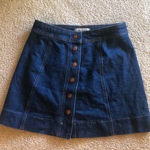 madewell Denim Skirt - size 2